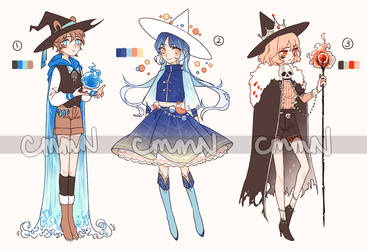 MEME ADOPTS - witches edition [CLOSED] by cmmn