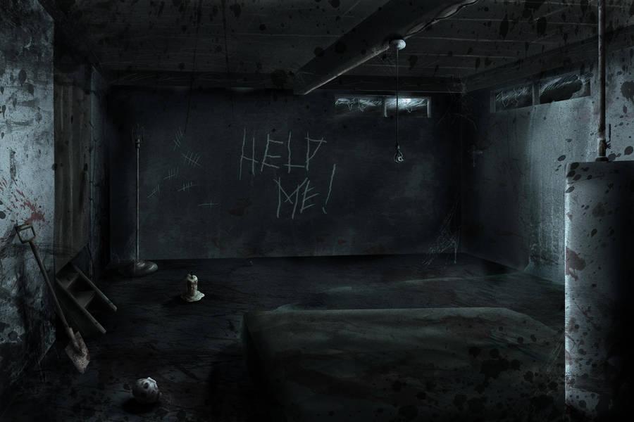 Creepy Basement by DevilishInk