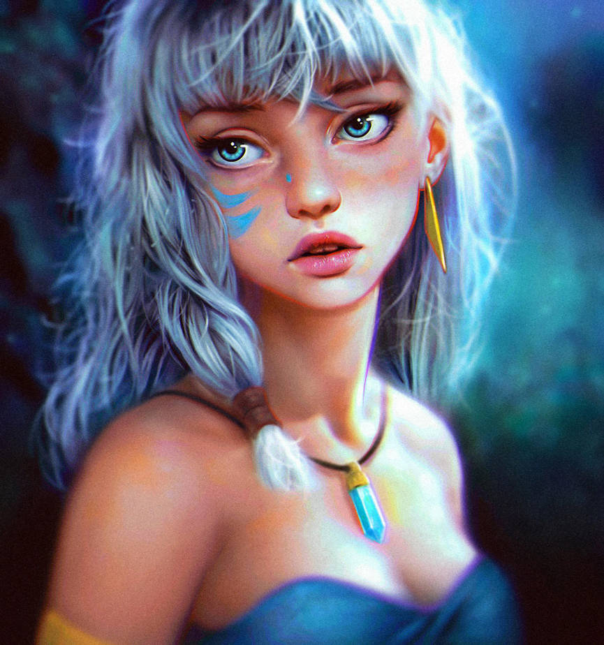 Princess Kida FanArt by ReneGorecki