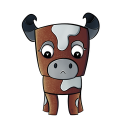 Cow by Hollicat