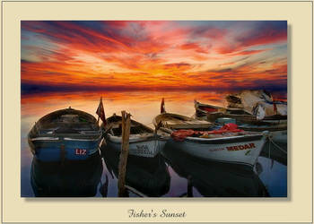 FISHERS SUNSET by deepdiver