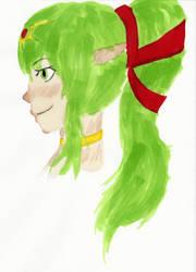 Tiki (Sketch) by Kya813