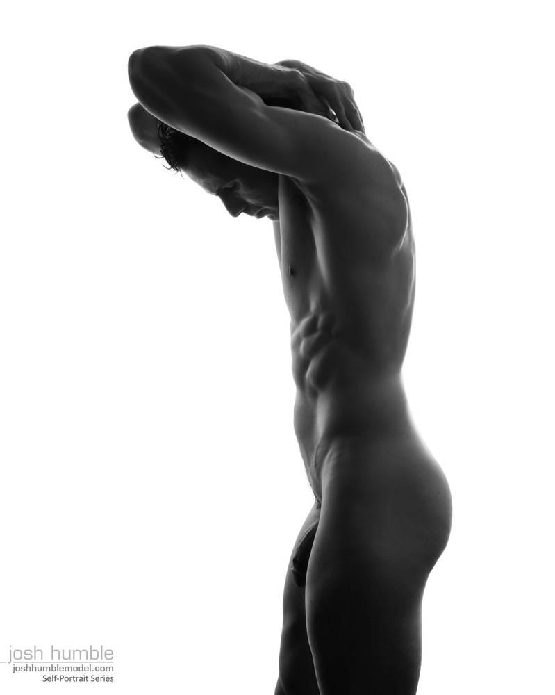 Male Nude, Self Portrait by joshhumblemodel