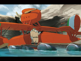 A pig's gotta fly by theCHAMBA