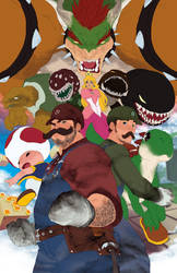 Unrendered - MARIO BROS. by theCHAMBA