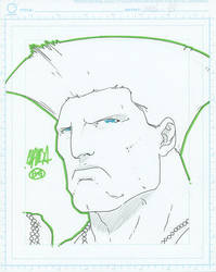 8x10 - Guile by theCHAMBA