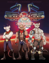 Biker Mice from Mars by theCHAMBA