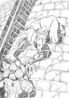 .Spidey.VS.Venom-twist.pencils by theCHAMBA