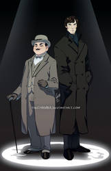 Detective Duo by theCHAMBA
