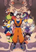 The Evolution of Gohan by theCHAMBA