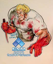 EVO 2014 - 08 - Brock Samson by theCHAMBA