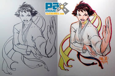 PAX2014 - Makoto of Street Fighter by theCHAMBA