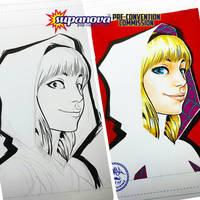 Supanova PreCon Commish - Spider-Gwen by theCHAMBA