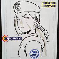 SupanovaMelb2015 - Cammy cosplays Jill Valentine by theCHAMBA