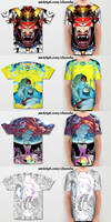Society6 all over shirts by theCHAMBA