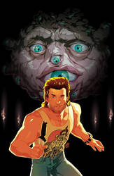 BIG TROUBLE IN LITTLE CHINA #21 cover by theCHAMBA
