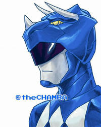 008 - Blue Ranger by theCHAMBA