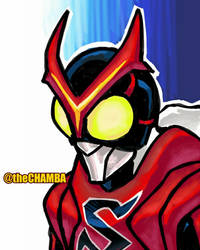 034 - Kamen Rider Stronger by theCHAMBA