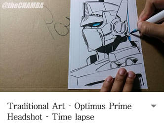 Autobot Leader Optimus Prime by theCHAMBA