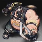 Overwatch - Roadhog by theCHAMBA