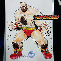 SDCC2016 - Zangief by theCHAMBA