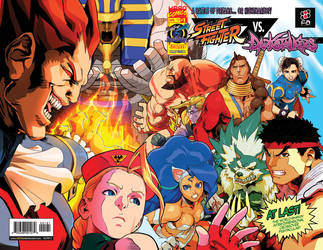 StreetFighter VS Darkstalkers 01 Exclusive by theCHAMBA