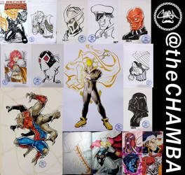 Oz Comic Con 2016 - Commission Compilation by theCHAMBA