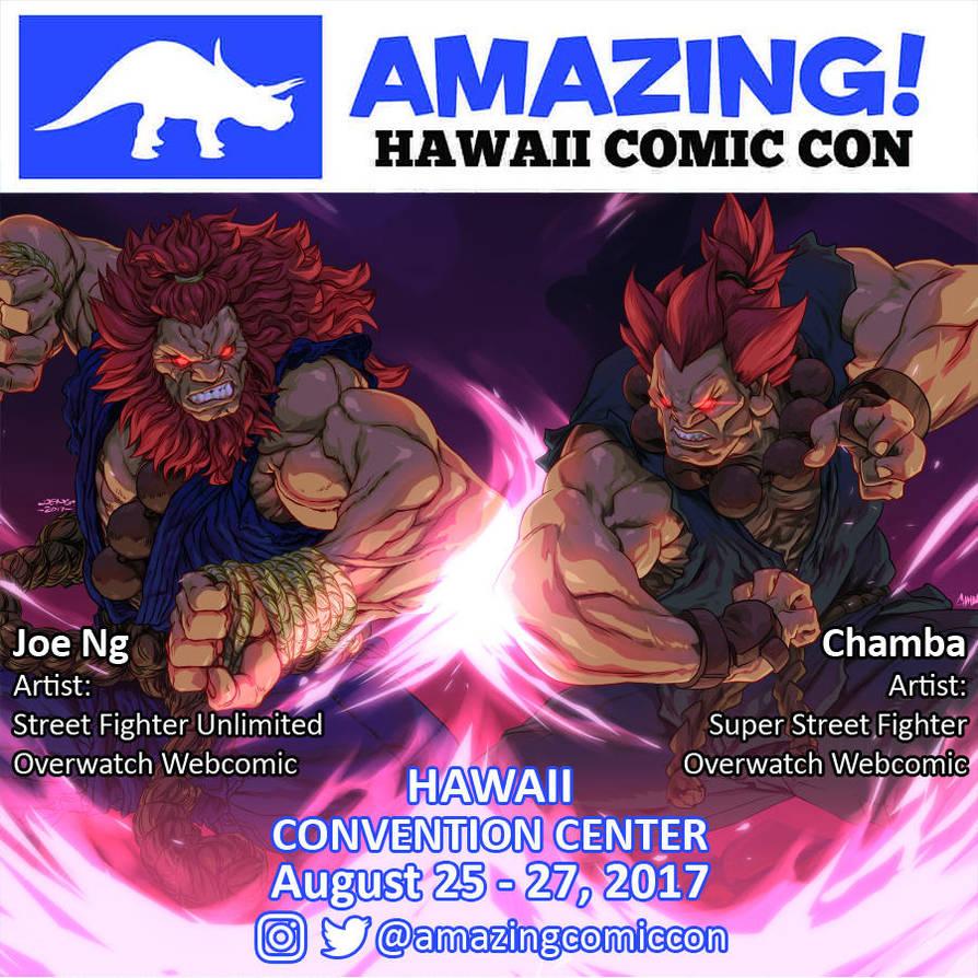 Amazing Hawaii Comic Con, 2017 by theCHAMBA