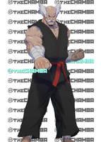 BAM10 - Heihachi Mishima by theCHAMBA