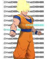 BAM10 - Goku by theCHAMBA