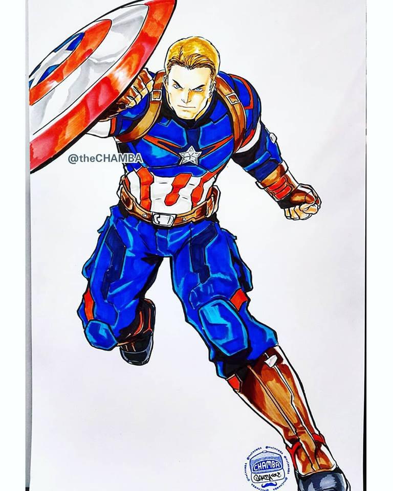 OzCC2018 - Captain America by theCHAMBA