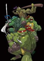 Teenage Mutant HERO Turtles by theCHAMBA
