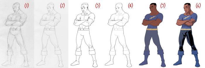 Black Samson Process by theCHAMBA