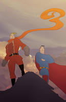 Men of Steel by theCHAMBA