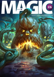 Magic CG magazine cover by eksrey