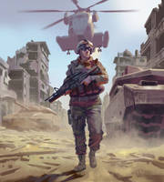 Soldier  by eksrey