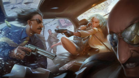 Gang Bang by eksrey