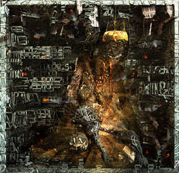 Ecce Homo 139 - HOMS - a state of hell by Polygonist