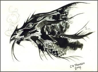 Black Dragon by Didi-Aubergenius