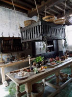 Tudor kitchen 1 by buttercupminiatures