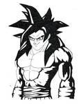 Goku ssj4 by BboySanji