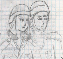 2008-late - Girl A with Guy A 1 by IsmaelContreras