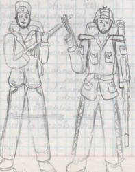 2008-late - Soldiers 2 by IsmaelContreras