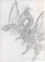2009-late Dragon Master Knight fanart by IsmaelContreras