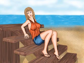 Ardara in the beach by IsmaelContreras