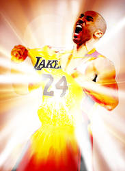 Light Imploding Kobe Bryant by GRAPHICSSEUR