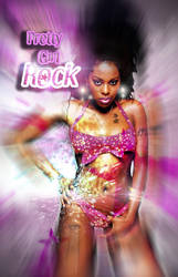 Pretty Girl Rock Foxy Brown by GRAPHICSSEUR
