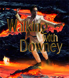 Walking with Downey by GRAPHICSSEUR