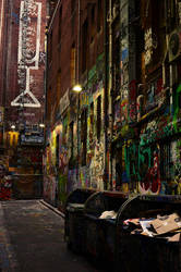 Graffiti alley. by synthetic-order