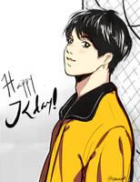 FA : Happy Jungkook day! by padisaja